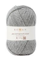 "Pure wool superwash worsted /ROWAN/ 100g #112 ""Mēnessakmens"""