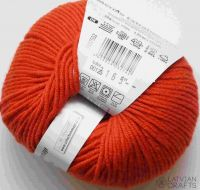 "Merino Extrafine 120 /Schachenmayr 50g #125 ""Orange"""