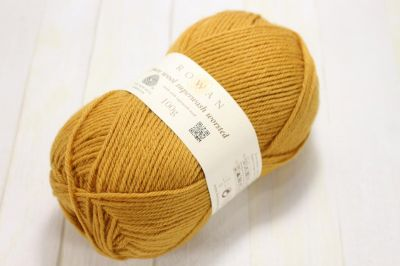 "Pure wool superwash worsted /ROWAN/ 100g #133 ""Zelts"" ― Latvian Crafts"