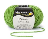 "Merino Extrafine 120 /Schachenmayr 50g #173 ""Apple"""