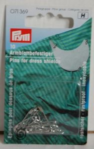 Pins for dress shields 10  ― Latvian Crafts