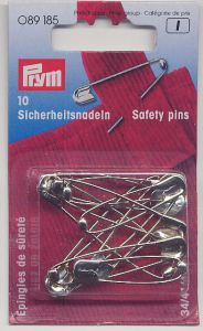 www.LatvianCrafts.lv - Safety pins - 10 pcs.