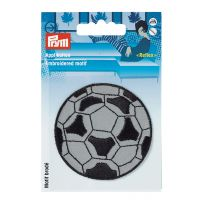 "Reflecting, embroidered motif ""Soccer ball"""