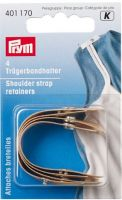 Shoulder strap retainers 4 pc, flesh color /Prym