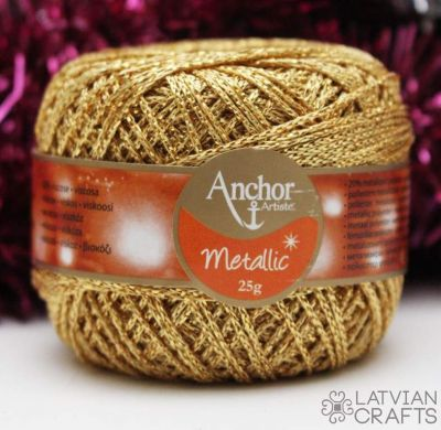 Anchor Metallic - 25g/ #00300 ― Latvian Crafts