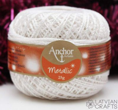 Anchor Metallic - 25g/ #00304 ― Latvian Crafts