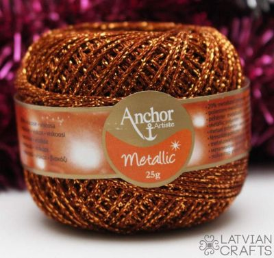 Anchor Metallic - 25g/ #00314 ― Latvian Crafts