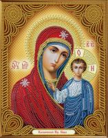 "Diamond painting ""Icon of the Kazan Mother of God"" - 22 x 28cm"