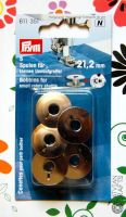 Boobins for small rotary shuttle - metallic/ 5 pcs