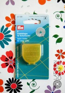Spare blades for rotary cutter 18mm - 2 pieces ― Latvian Crafts