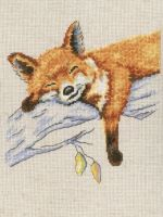 Autumn dream - embroidery kit /RTO/ 16.5 x 16.5 cm