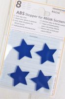 "Anti slip stoppers for Regia socks ""Blue Stars"" 8pcs"