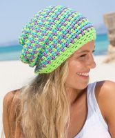 "Crochet Hat ""Malibu"" /Boston Sun"