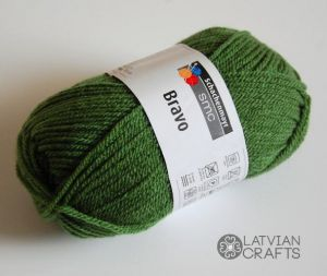 "Bravo /Schachenmayr/ 50g #8191 ""Paparde"" ― Latvian Crafts"