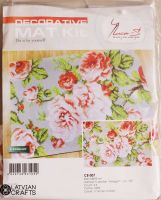 "Decorative mat ""Roses"" - embroidery kit /Luca-S/ 65 x 93 cm"
