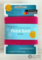 "Flieece band 70x650 mm #00036 ""Pink"" - stock clearance!"