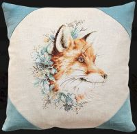"Pillow ""Fox"" - embroidery kit /Luca-S/ 40 x 40 cm"