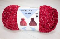 "Reflect - reflective yarn /Perfect/ 100g #1098 ""Red"" - stock clearance!"