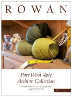 Pure Wool 4ply Archive Collection /English