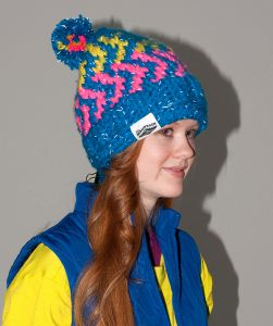 "Knitted Hat ""Zig-Zag"" /Lumio  ― Latvian Crafts"
