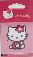 "Hello Kitty iron-on motif ""Pink"" D"