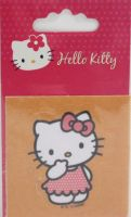 "Hello Kitty iron-on motif ""Orange"" F"