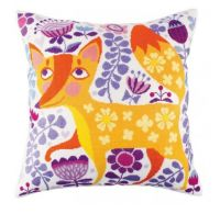 "Pillow top ""Foxy beauty"" - embroidery kit /RTO/ 40 x 40 cm"