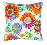 "Pillow top ""Music of the sun II"" - embroidery kit /RTO/ 40 x 40 cm"