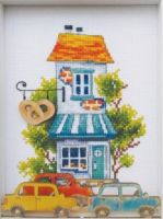 Bakerie - embroidery kit /RTO/ 12 x 15 cm