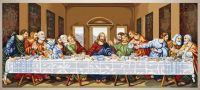 The Last Supper - embroidery kit /Luca-S/ 130 x 56 cm