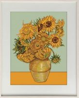 Sunflowers of V.Gogh - embroidery kit /Luca-S/ 38 x 49 cm