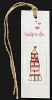 "Bookmark ""Happily ever after"" - embroidery kit /Luca-S/ 5,5 x 15 cm"
