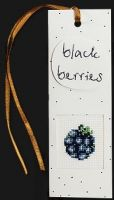 "Bookmark ""Blackberries"" - embroidery kit /Luca-S/ 5,5 x 15 cm"