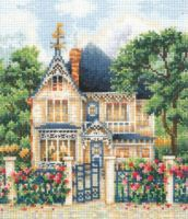 Country House - embroidery kit /Andriana/ 16 x 17 cm